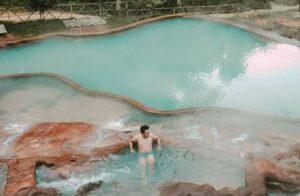 kolam air panas banten, pemandian air panas di banten