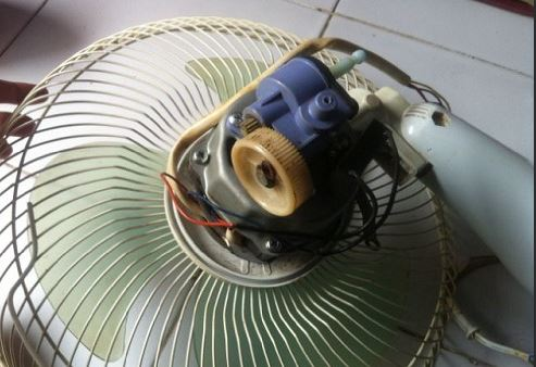 Cara mudah Memperbaiki Kipas Angin Putaran Lambat