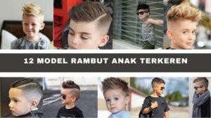 Model Rambut Anak terkeren
