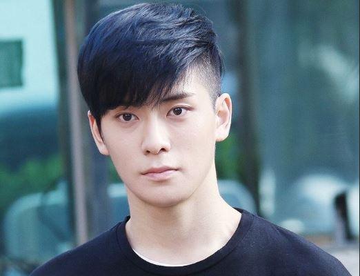 model rambut poni pria korea
