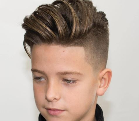 Model rambut anak Laki