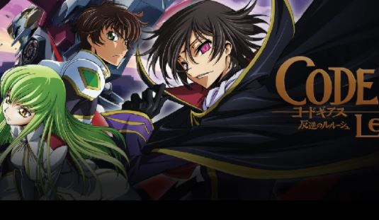 Anime Code Geass: Lelouch of the Rebellion