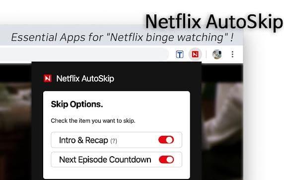 Cara Mudah Skip Intro Netflix di Google Chrome